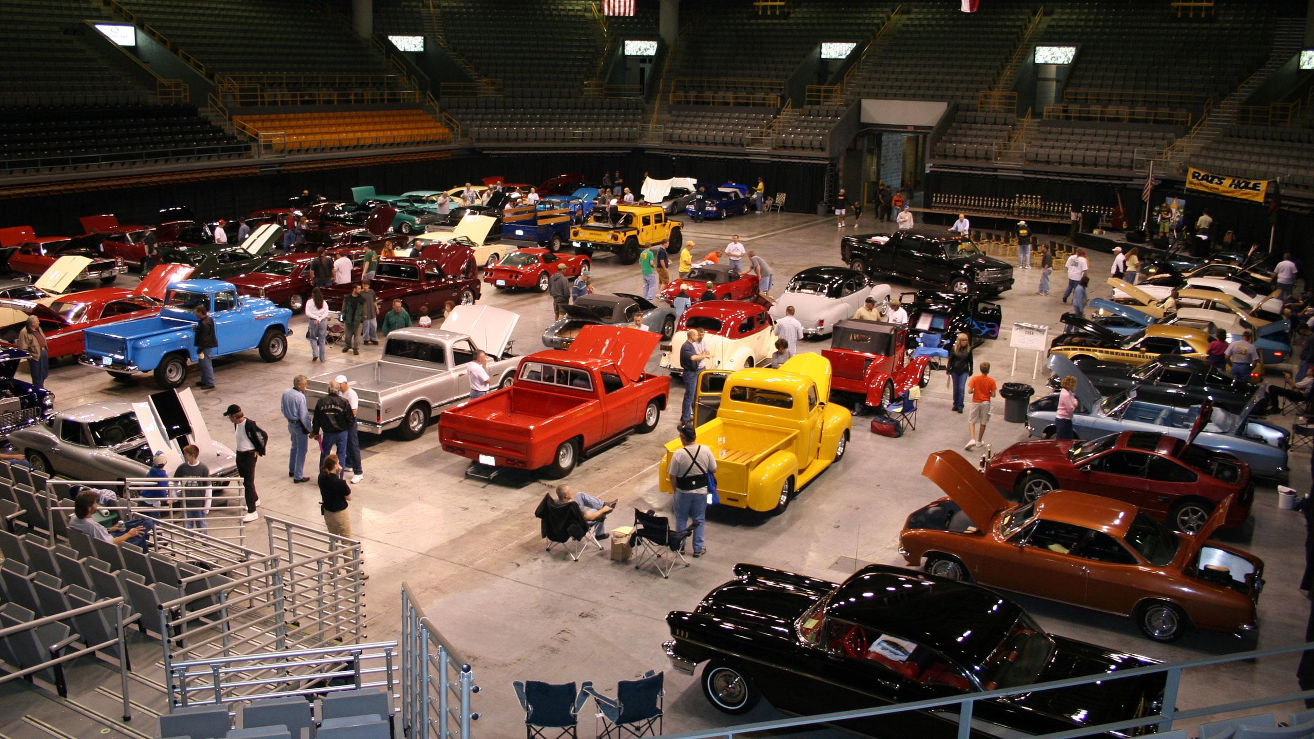 car show at holmes convocation center