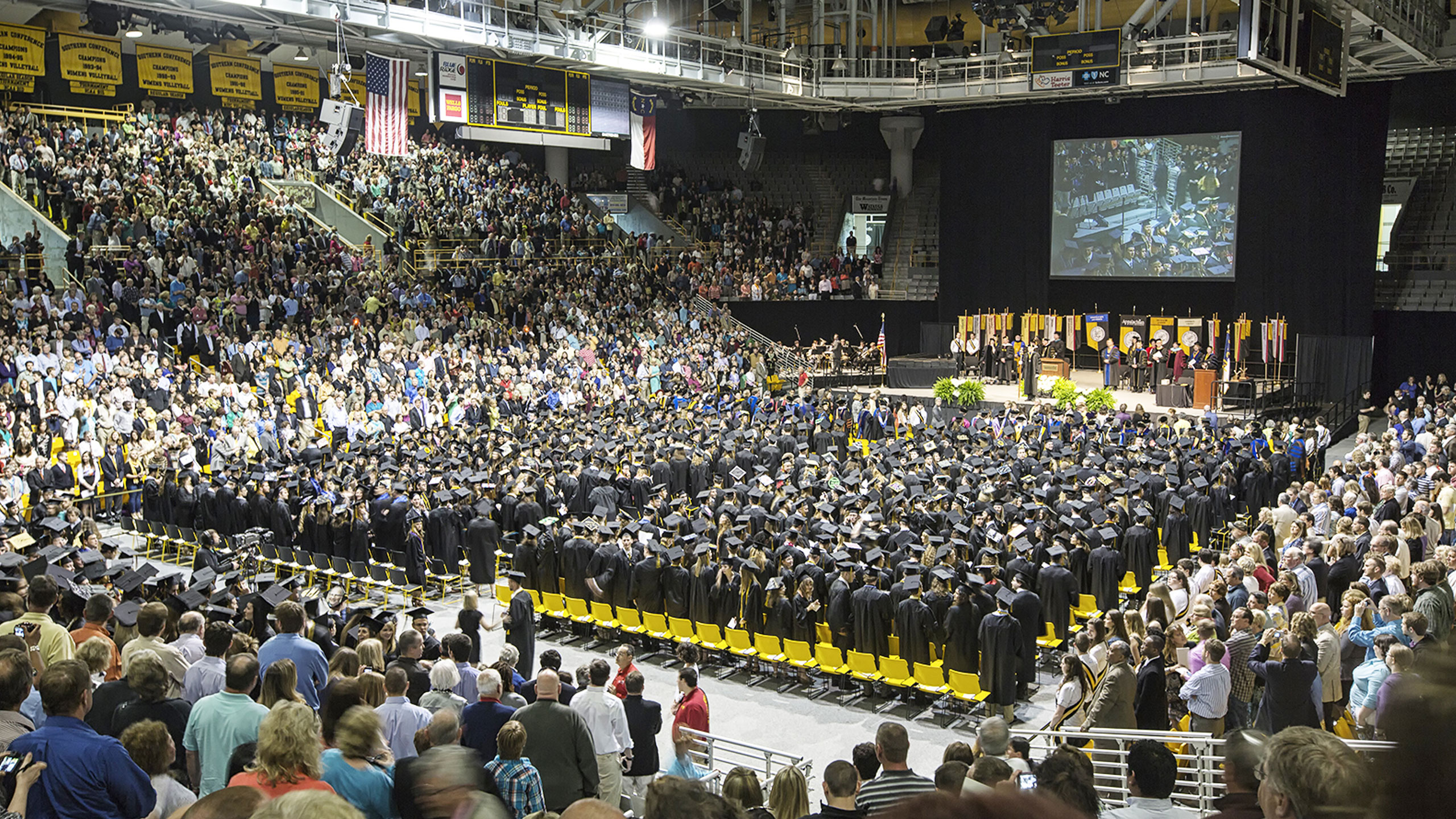 app state graduation at the holmes center